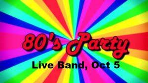 80s Live Band Dance