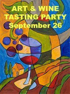 Art & Wine Tasting Party