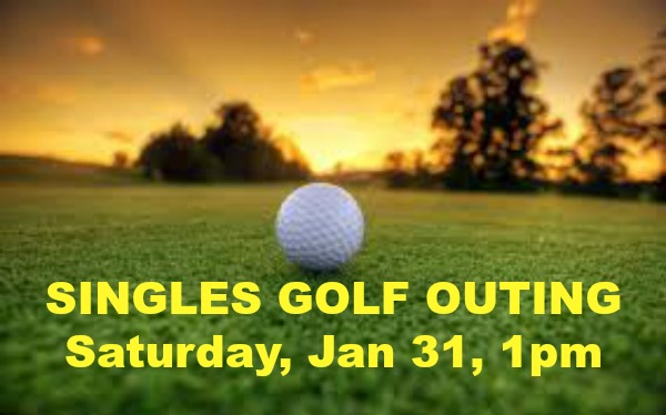 SINGLES GOLF OUTING
