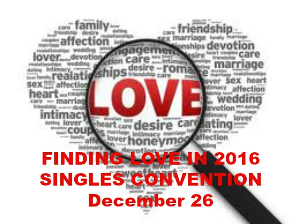Finding Love in 2016