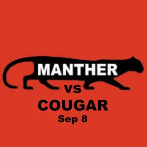 Manthers vs Cougars