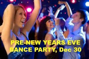 Pre-New Years Eve Dance