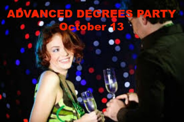 ADVANCED DEGREES PARTY