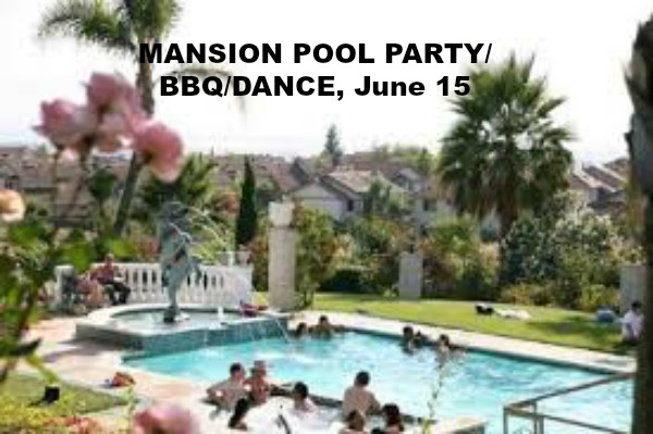 pool party, singles party, fremont singles, east bay singles, bay area singles