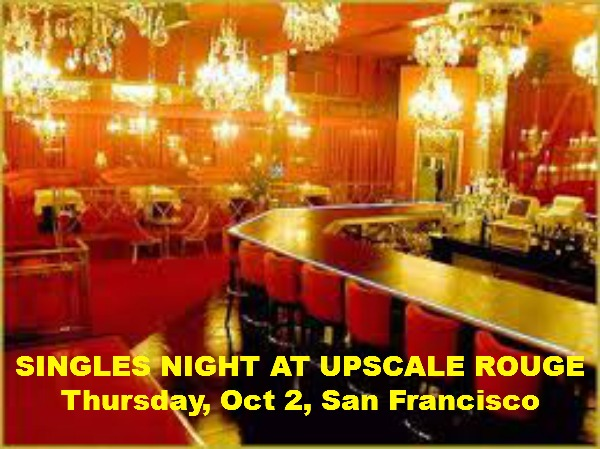 SINGLES NIGHT AT LEGENDARY ROUGE