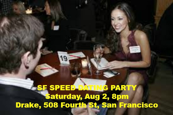 SF NIGHTCLUB SPEED DATING PARTY