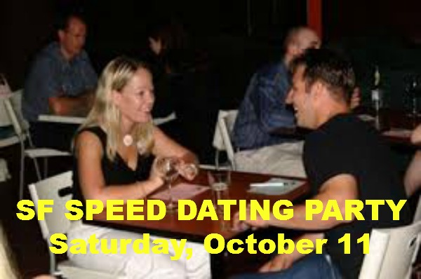 SF SPEED DATING PARTY