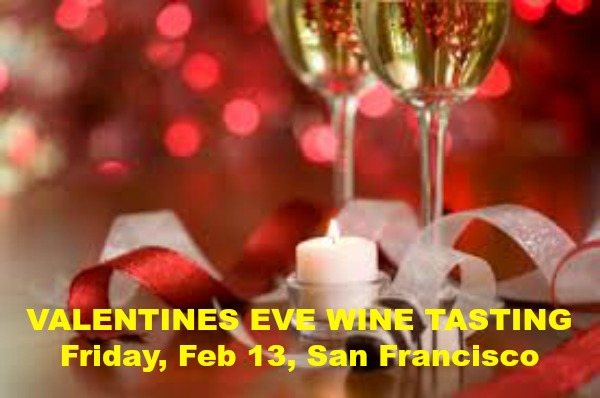 VALENTINES EVE WINE TASTING